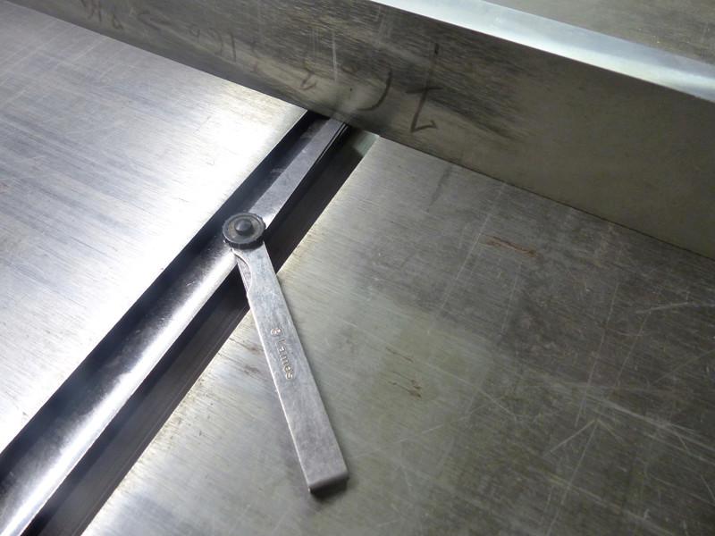 Réglage des fers de dégau Maxi 26  plus 0712