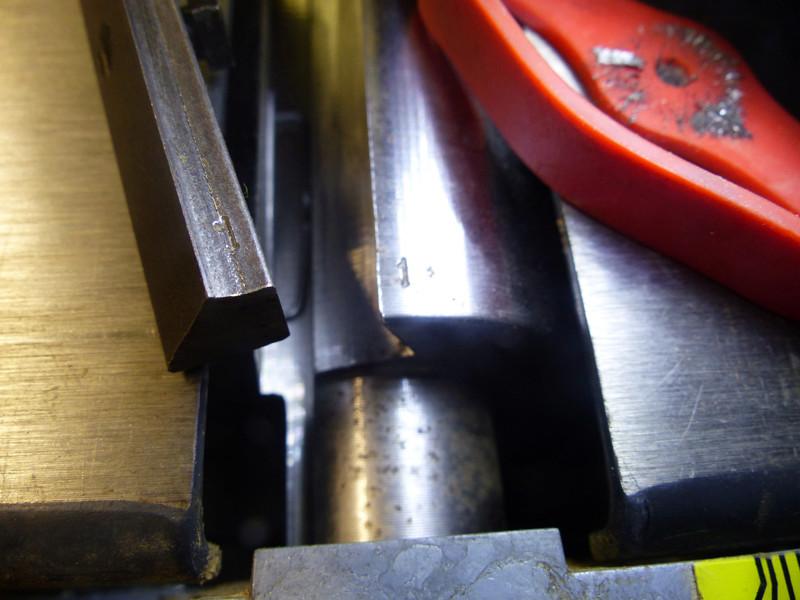 Réglage des fers de dégau Maxi 26  plus 0911