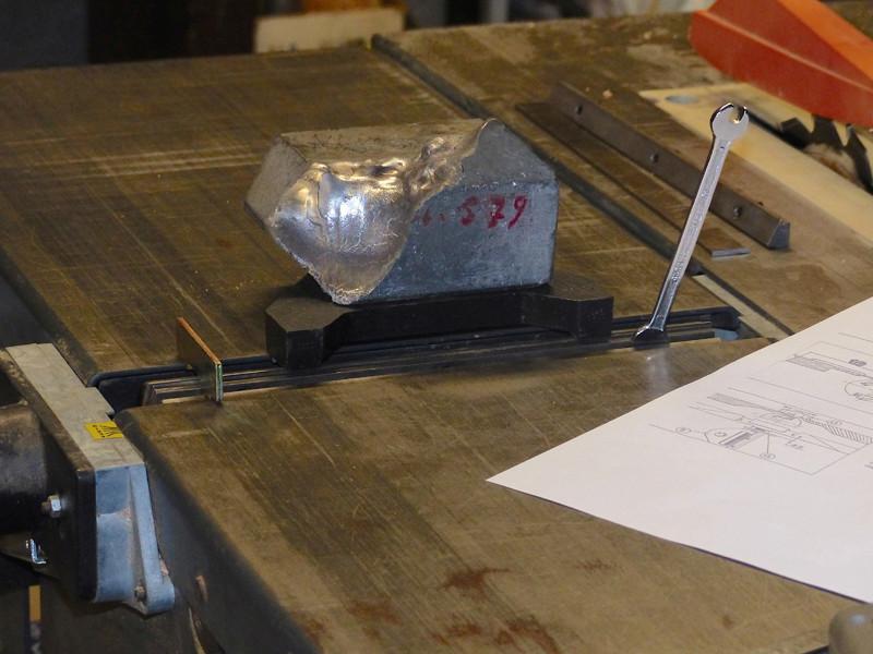 Réglage des fers de dégau Maxi 26  plus 1213