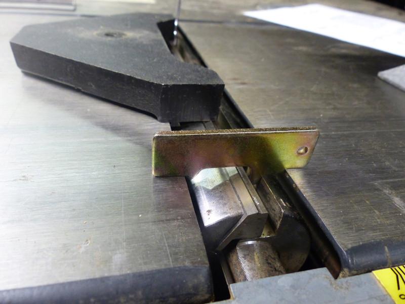 Réglage des fers de dégau Maxi 26  plus 1310