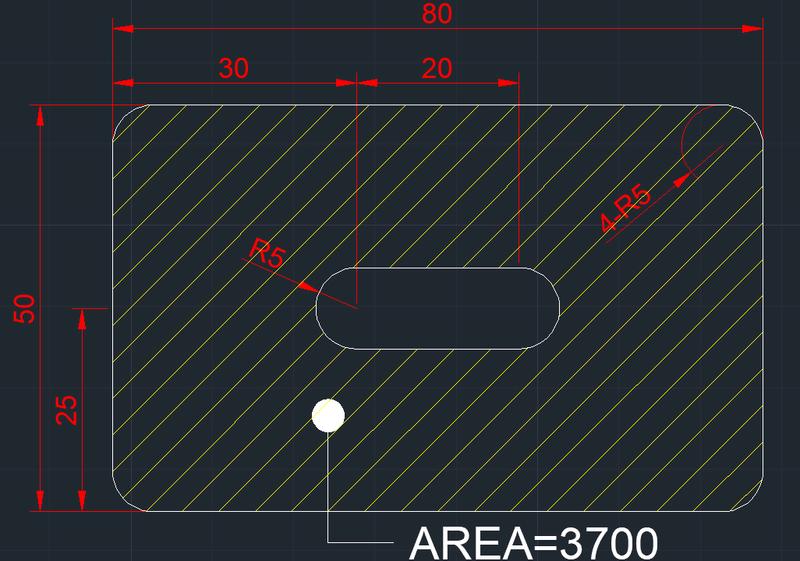 AutoCAD教學 幾何圖形習題01 20180110