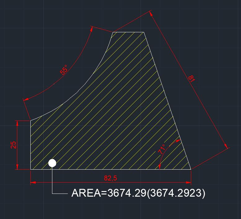 AutoCAD教學 幾何圖形習題04 Izia10