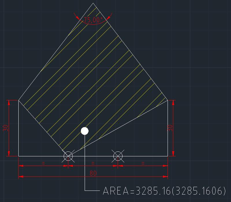 AutoCAD教學 幾何圖形習題06 Izia14