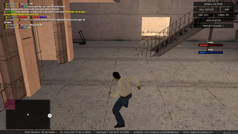 Denuncia contra player Marcao Matando enquanto estava trabalhando de caminhao e Roubando carga Sem tag de policia e Me prendeu PERDI  5K Mta-sc41