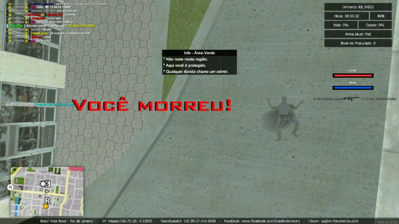 Bope matando area verde Mta-sc33