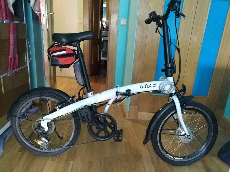 """Vendo plegable eléctrica 6 velocidades 20"""" y 17 kg de peso Img_2016"""