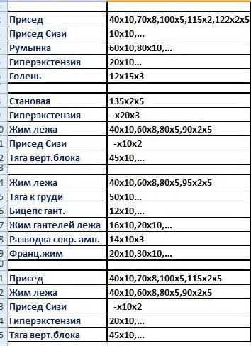 Лина Зубрицкая. Подготовка по троеборью. 14