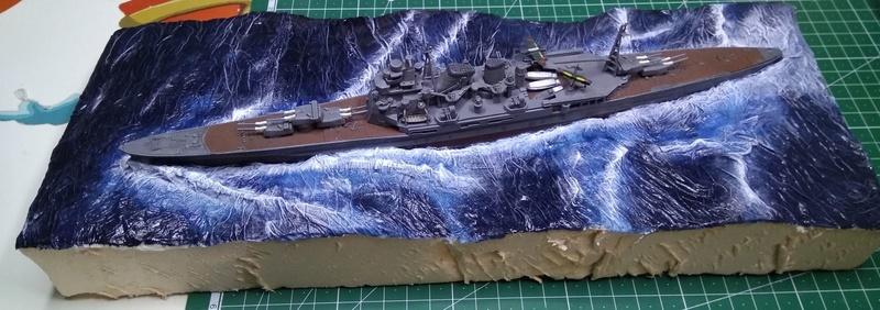 Débutant en diorama maritime, désormais terminé! Diofin10