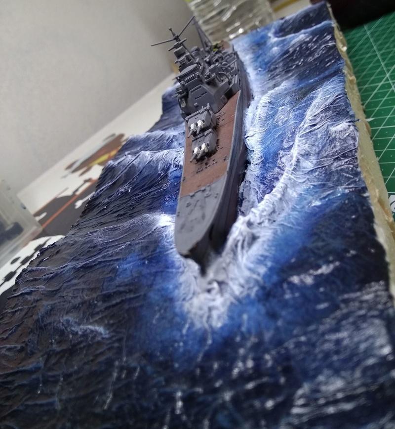 Débutant en diorama maritime, désormais terminé! Diofin11