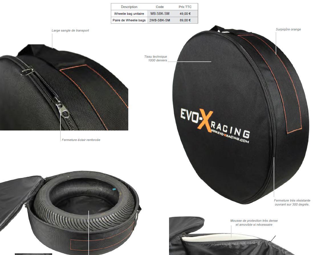 AVIS Wheelie Bag Evo X Racing Wheeli11