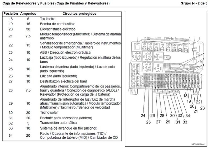 Caja De Fusibles Astra G
