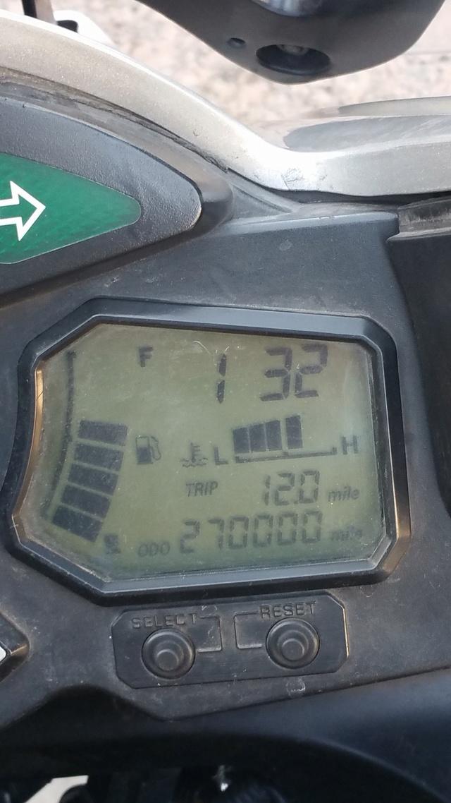 Combien de Kilomètres une FJR peut elle faire?. 27710210