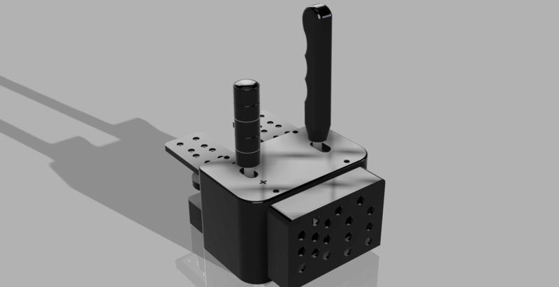 [3D Simracing] Conception de produits bon marché pour le Simracing Shifte10