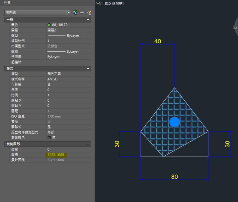 AutoCAD教學 幾何圖形習題06 Cadou_10