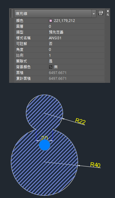 AutoCAD教學 幾何圖形習題03 Cadou_15