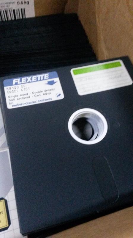 Des disquettes mystérieuses! 20180110