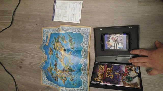MD JAP Phantasy Star / Shining force - MD JAP 27500710