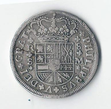 8 reales de 1718 de Felipe V 5510