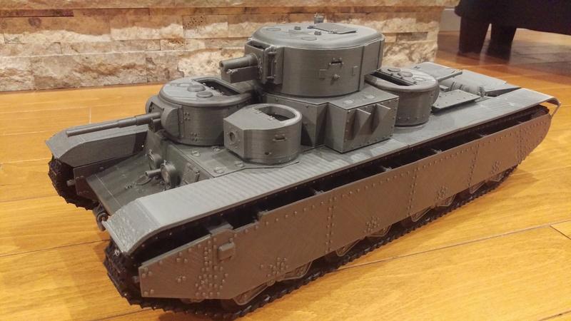3D Printed T-35A Imag0312