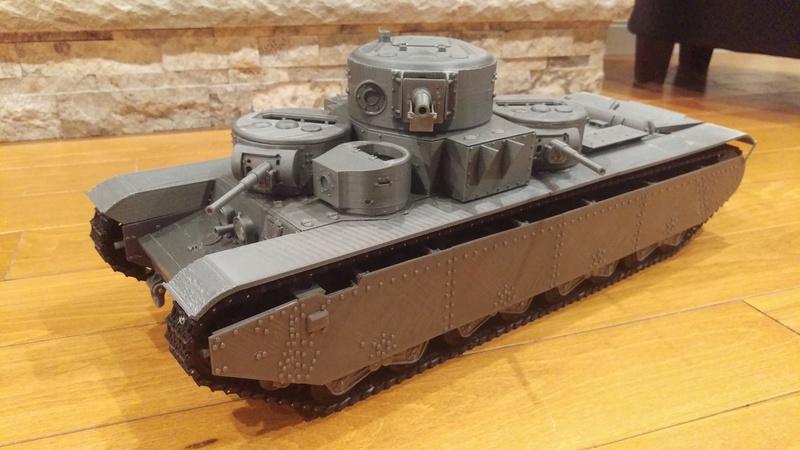 3D Printed T-35A Imag0313