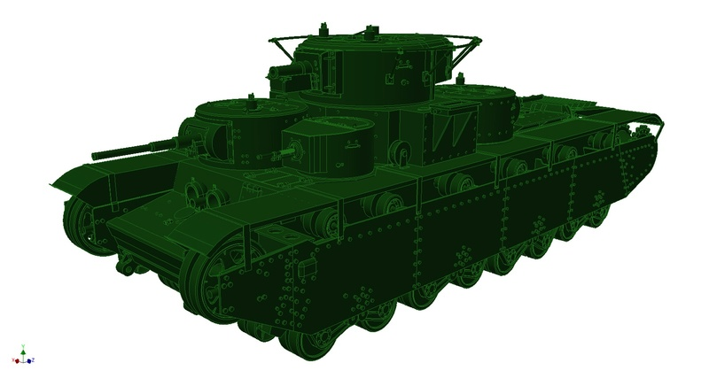 3D Printed T-35A Perspe10