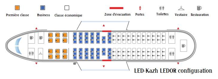 Livraisaon du premier LED-Kazh des AAE Boeing10