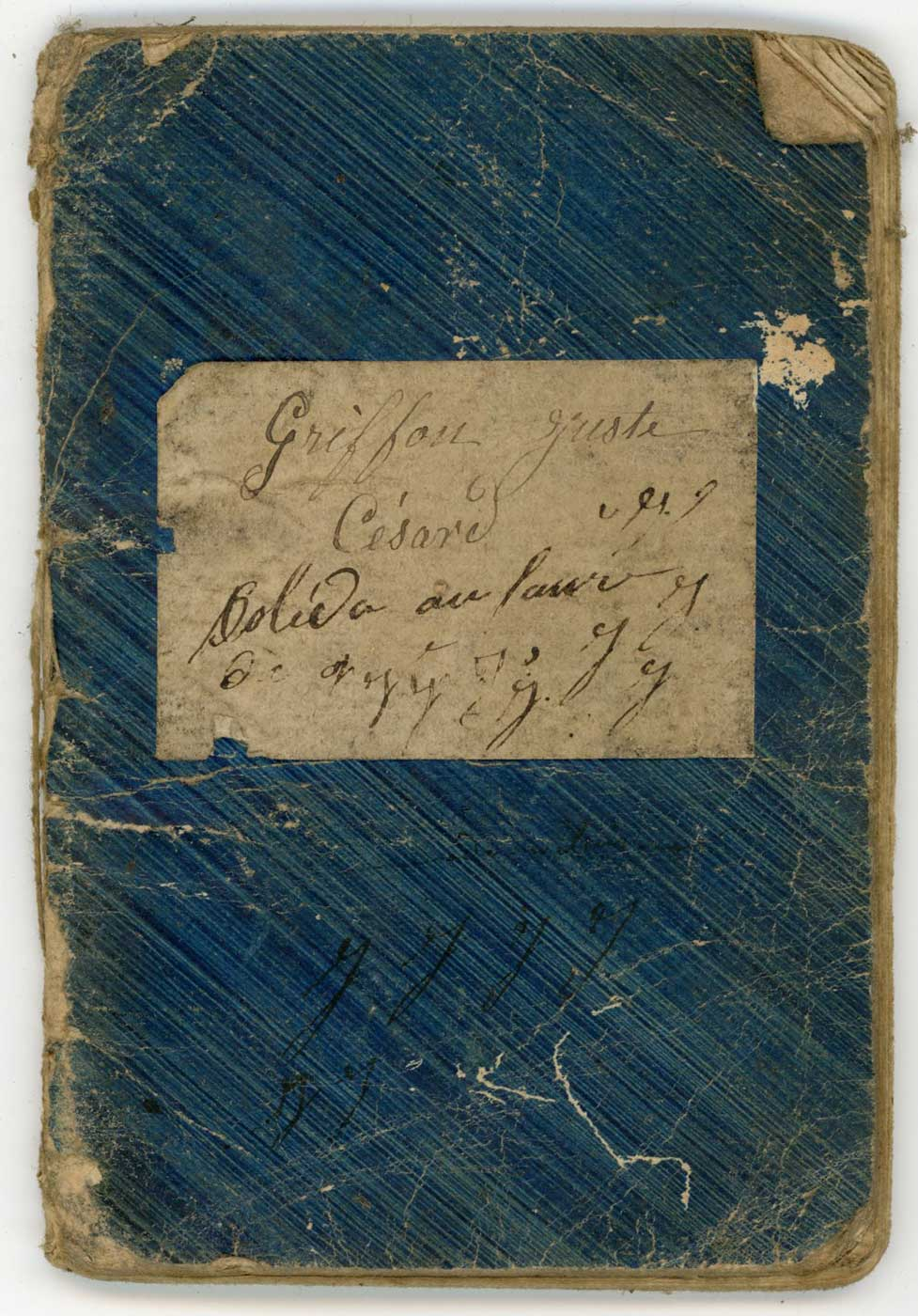 """Livret """"militaire"""" de Garde National 1870 Doc_li28"""