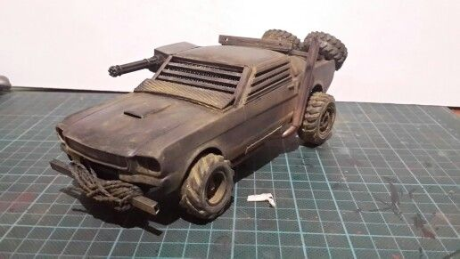 """Shelby 69 """"mad max"""" 1/24 - Page 2 8a76ec10"""