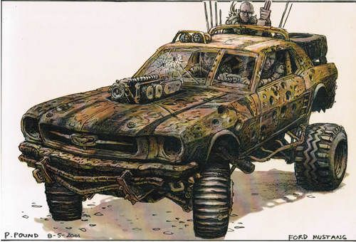 """Shelby 69 """"mad max"""" 1/24 D3249610"""