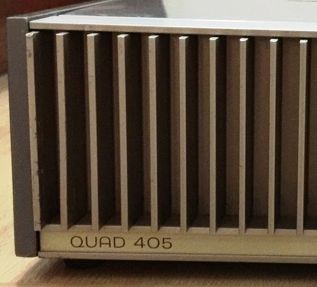 QUAD 405 Class A Power Amplifier  (made in England) (Sold) 319