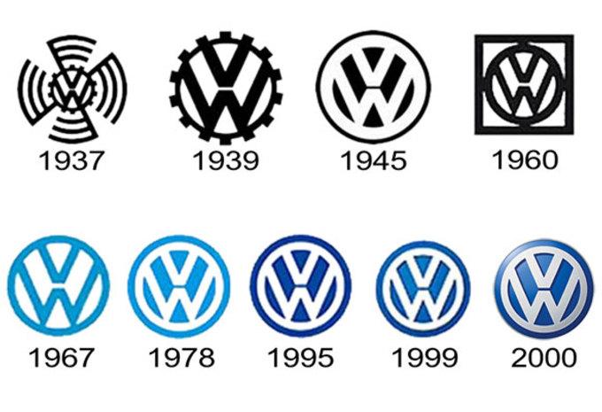 Volkswagen : un nouveau logo, pour un nouveau départ . Logo-v10