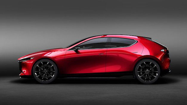 Premières impressions du prototype de la Mazda3 2019  Une-no11