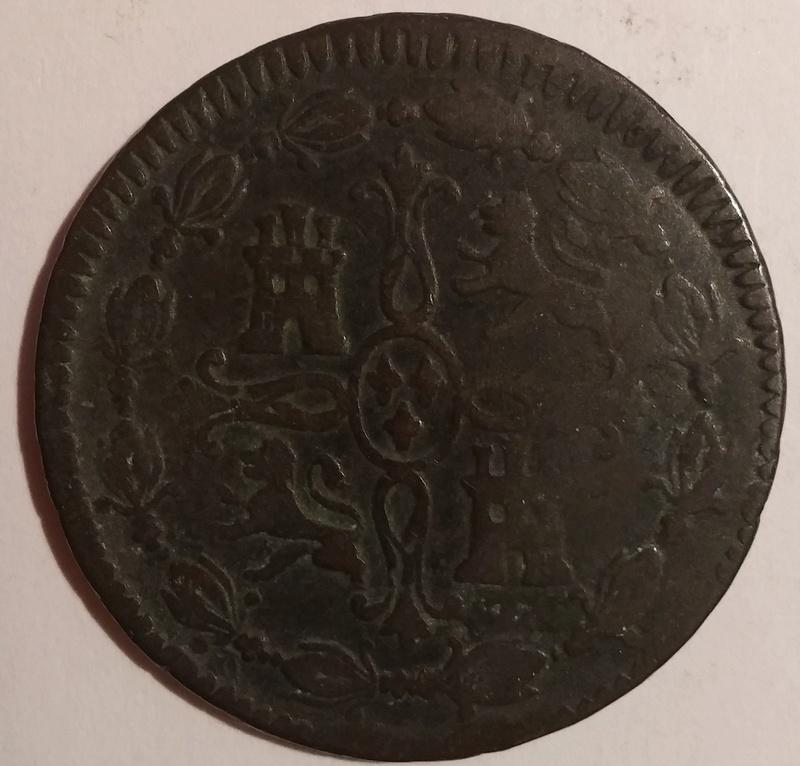8 Maravedís 1812. Fernando VII. Jubia 20180211