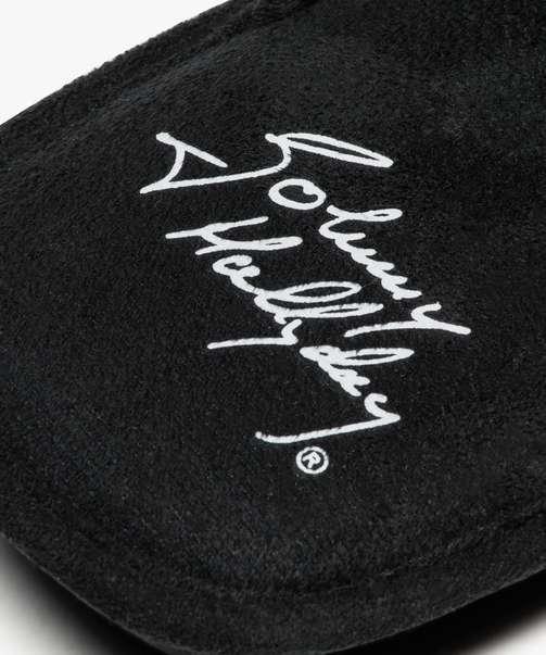 "des pantoufles ""JOHNNY hallyday"" Atg03511"