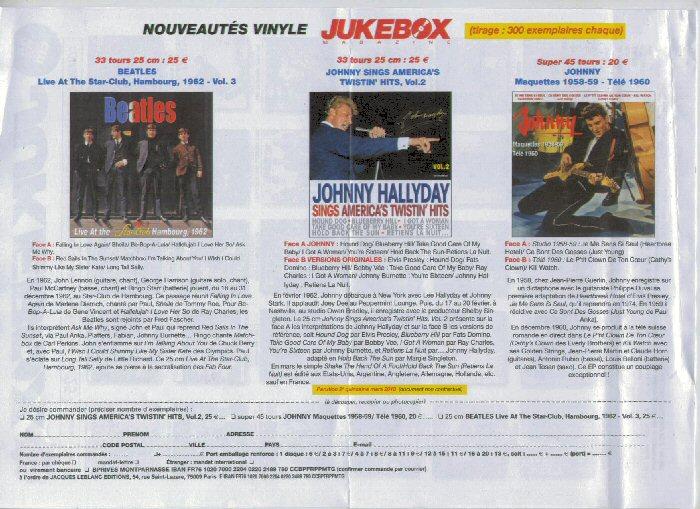 Sortie Vinyls Juke Box Mag Jbm-310