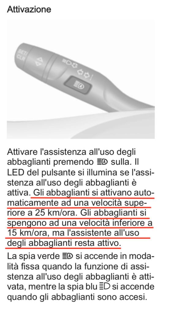 Anomalia pulsante abbaglianti automatici - Pagina 3 Scherm12