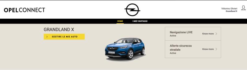 Servizio Opel Connect Scherm38