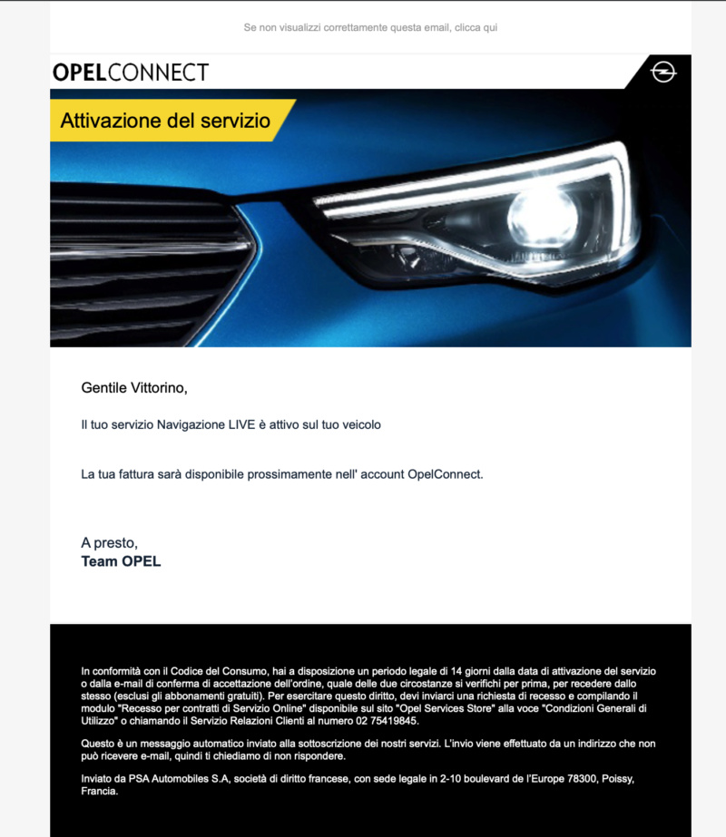 Servizio Opel Connect - Pagina 3 Scherm40