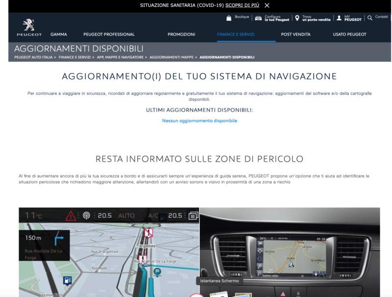 Aggiornamento mappe gratuito dal sito di Peugeot - Pagina 10 Scherm51
