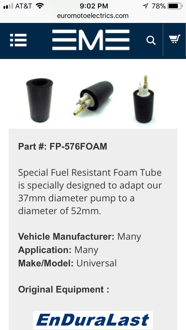 fuel pump replacement A6338c10