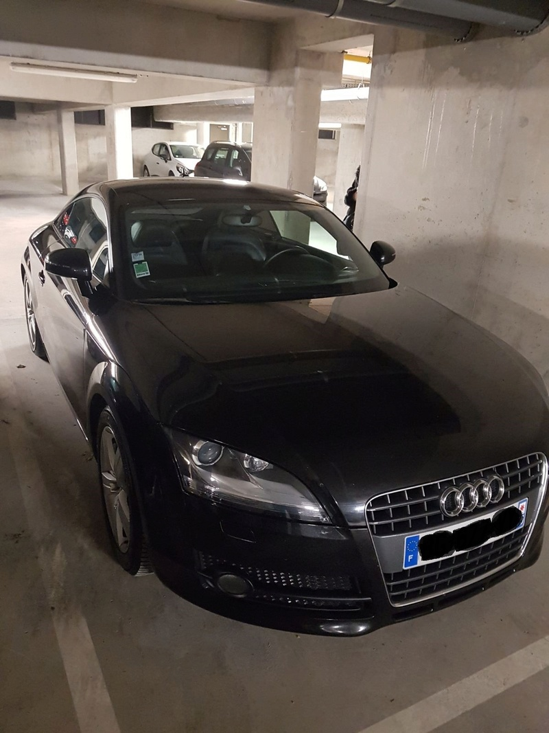 Présentation de ma TT Garage16