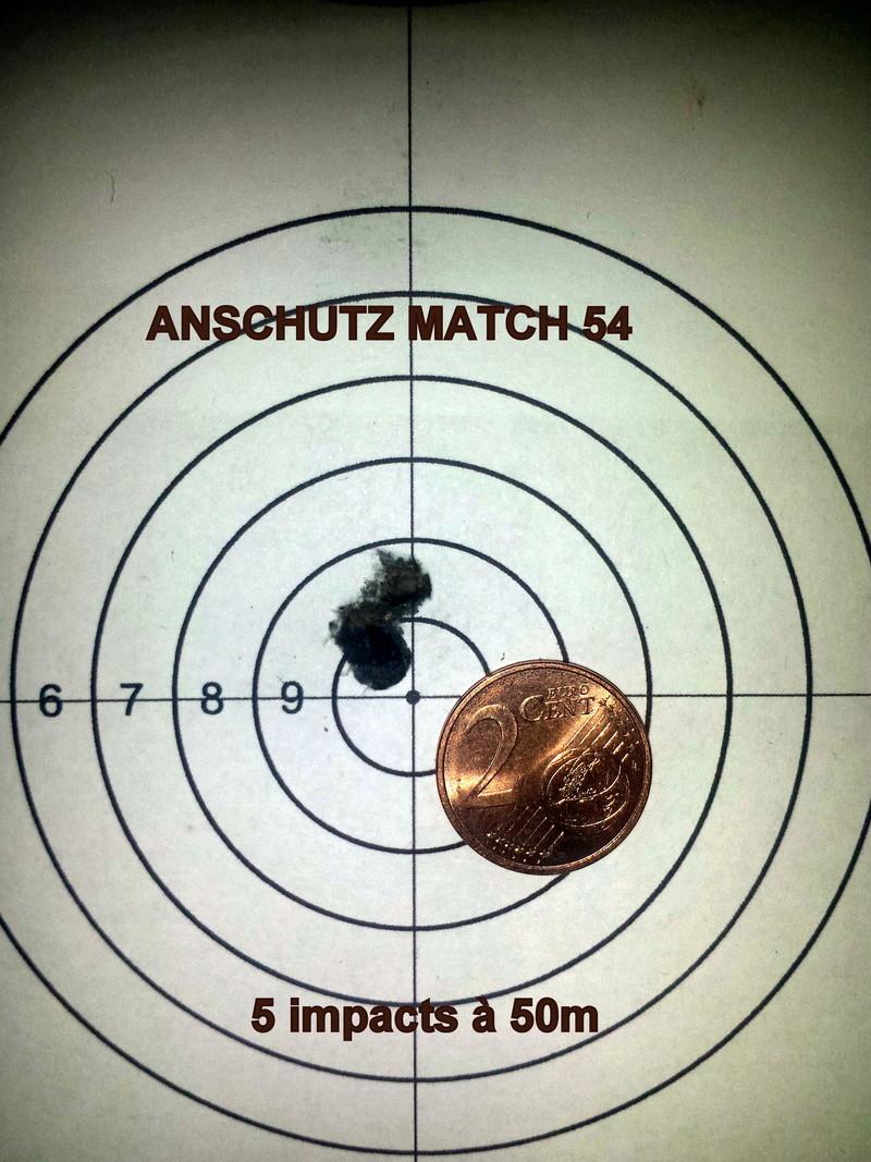 Anschutz match 54 .22lr - 50m  20180111