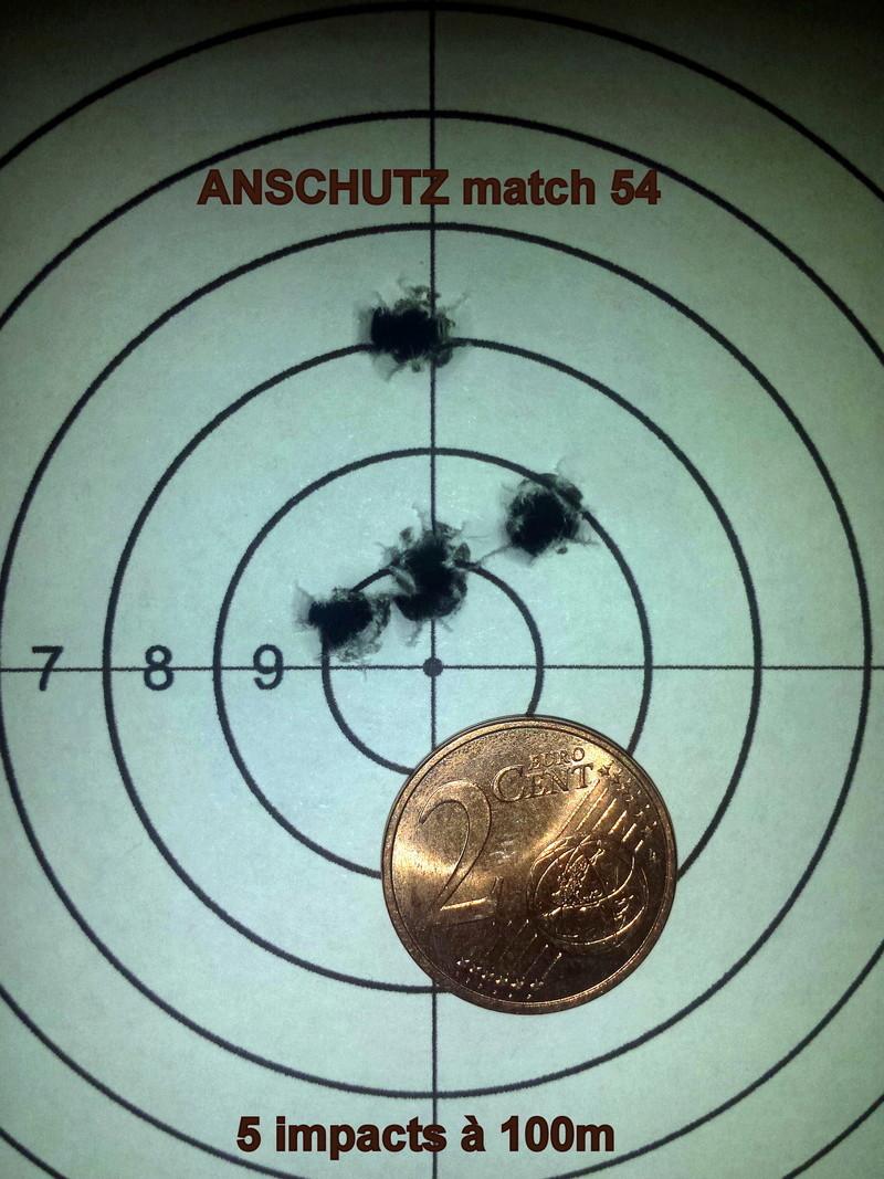 Anschutz match 54 .22lr - 50m  20180115