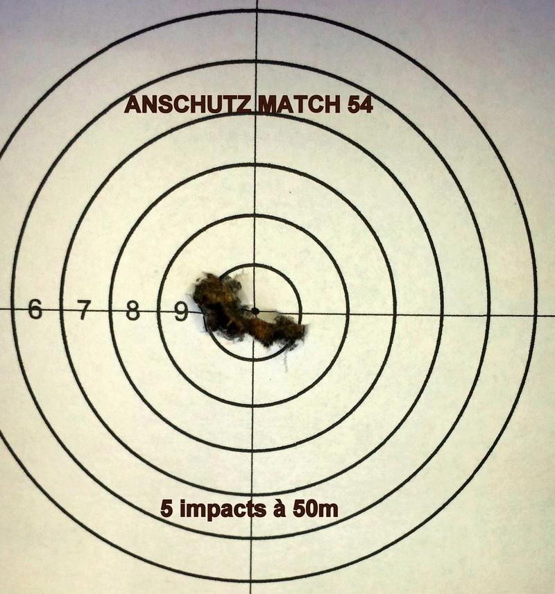 Anschutz match 54 .22lr - 50m  201810
