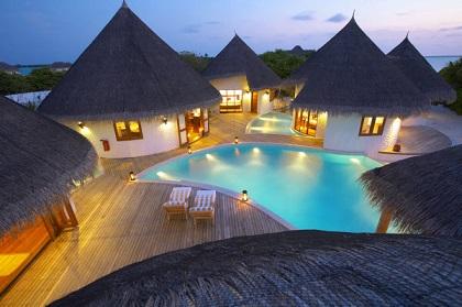 هنا تقع جزر المالديف شهر العسل 3125