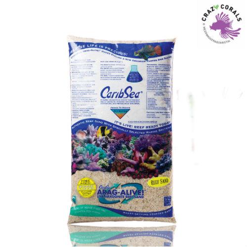 Ready ctock 1. Caribsea ARAG-ALIVE SPECIAL GRADE Live Sand - 10 KG Caribs10