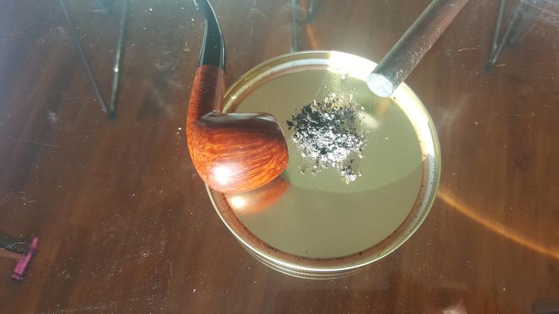 Fumar el último tercio de la pipa... 20180216