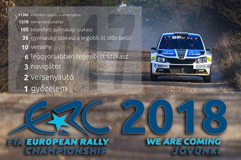 FIA European Rally Championship: Temporada 2018 - Página 2 27459810