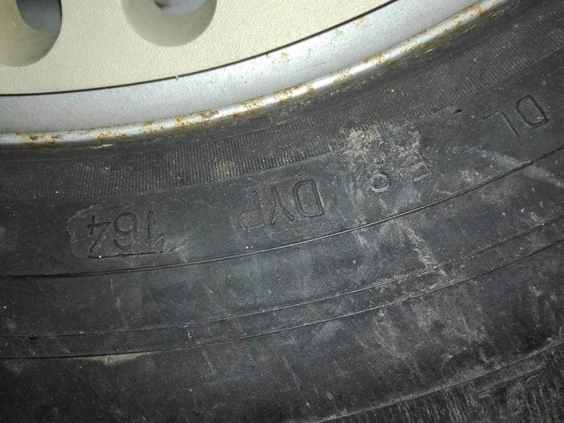 l'âge d'un pneu et les indices  29597511
