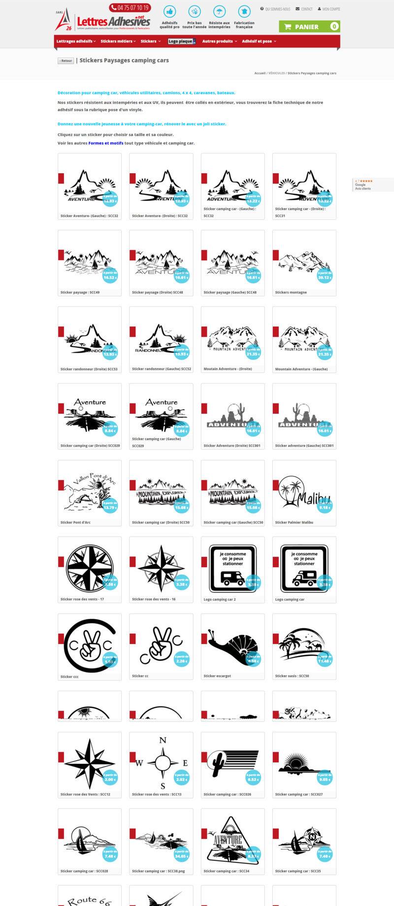 stickers caravane Screen13